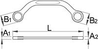 Ключ моторный - 200/2 UNIOR, фото 2