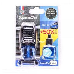 Ароматизатор на дефлектор жидкий Car Supreme DUO New Car, Aroma