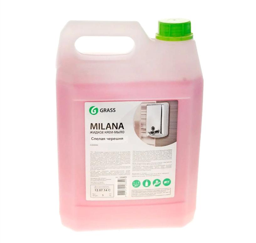 """Жидкое крем-мыло """"Milana"""", Grass"""