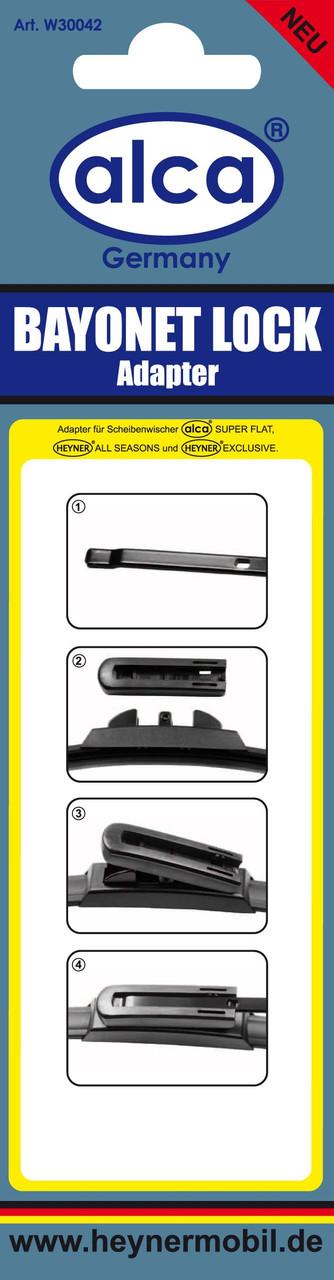"""Адаптер для """"Super Flat"""", """"All Seasons"""" c конструкцией рычага для новых моделей Bayonet Lock, Alca"""