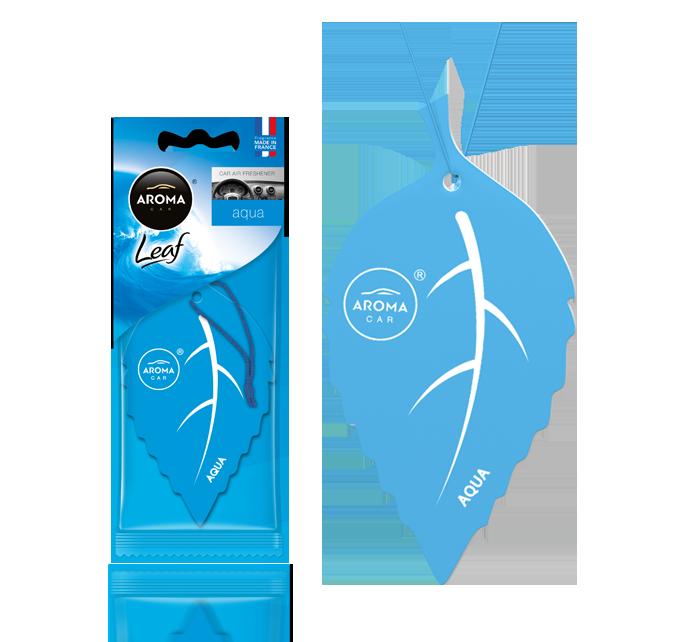 Ароматизатор подвесной листик Leaf Aqua, Aroma