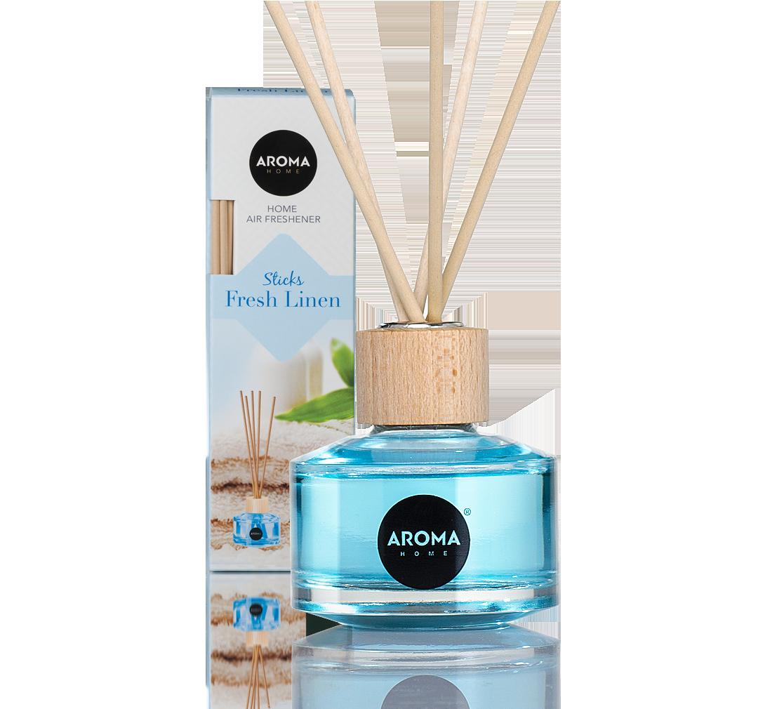 Ароматизатор для дома STICKS Fresh Linen, Aroma,  50ml