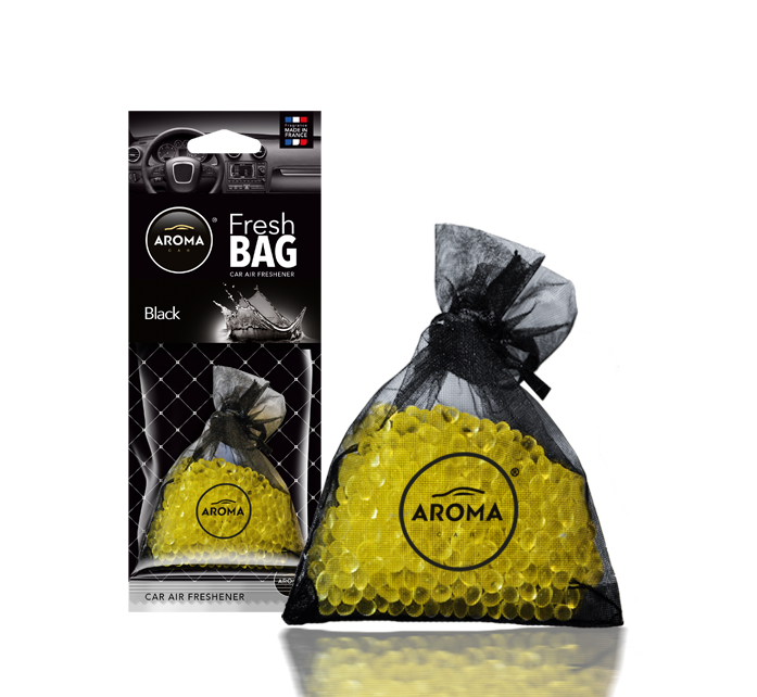 Ароматизатор подвесной сухой Fresh Bag Black, Aroma