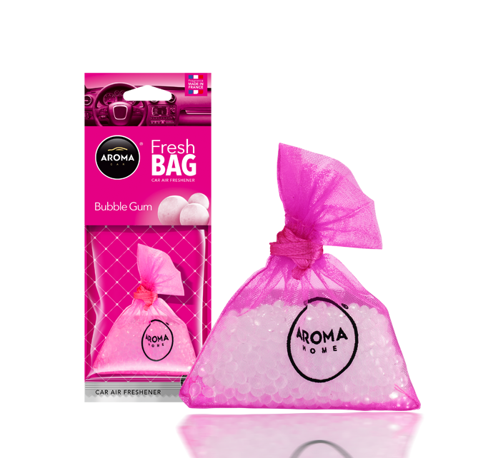 Ароматизатор подвесной сухой Fresh Bag Bubble Gum, Aroma