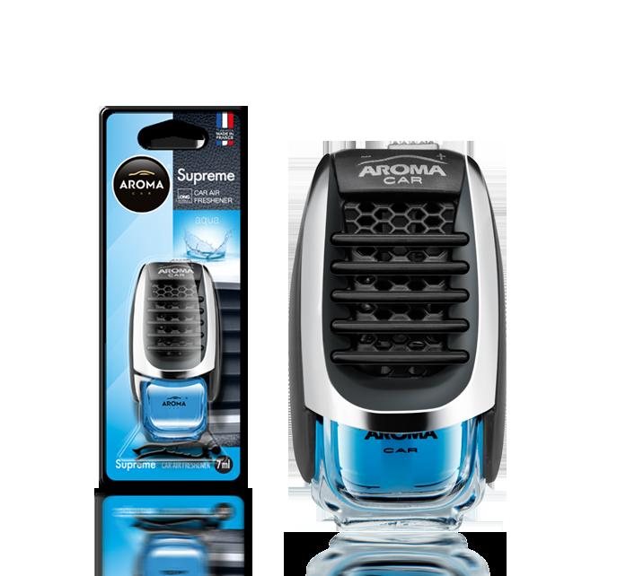 Ароматизатор на дефлектор жидкий Car Supreme Aqua, Aroma