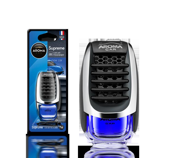 Ароматизатор на дефлектор жидкий Car Supreme New Car, Aroma