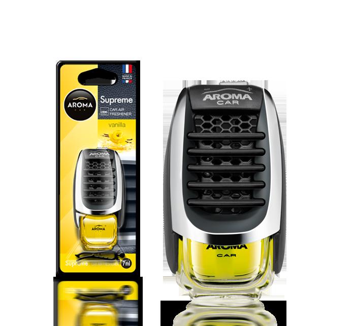 Ароматизатор на дефлектор жидкий Car Supreme Vanilla, Aroma