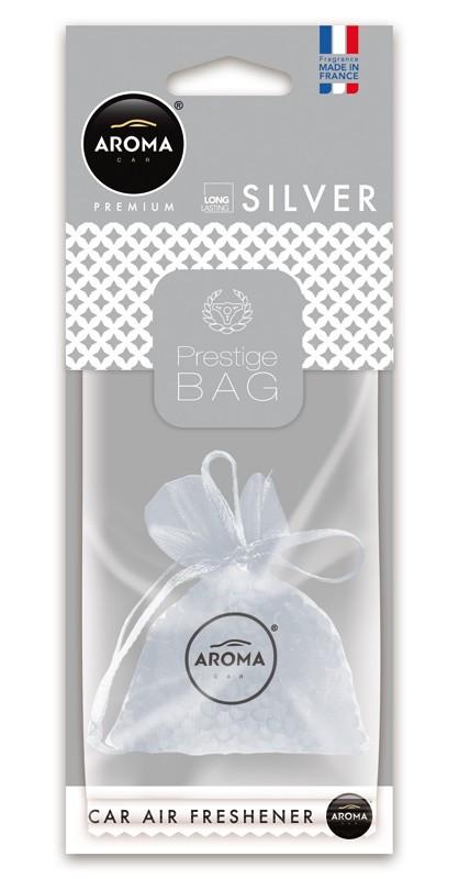 Ароматизатор подвесной сухой Prestige Fresh Bag Silver, Aroma