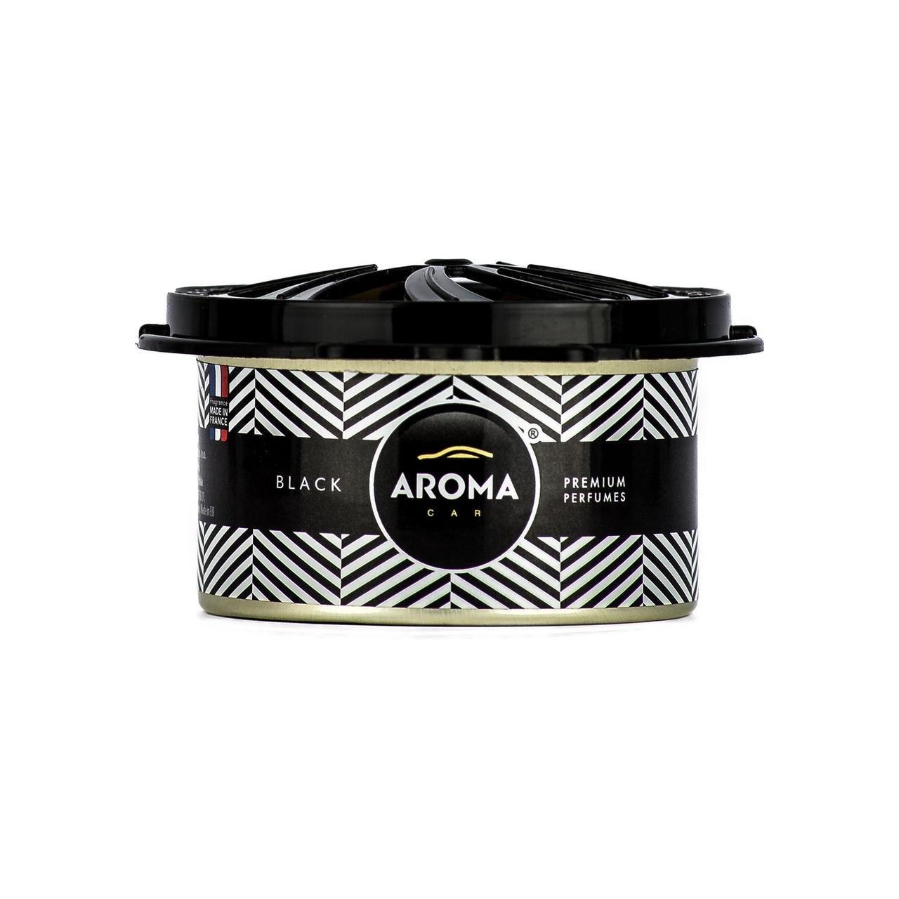 Ароматизатор под сидение сухой Prestige Organic Black, Aroma