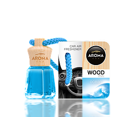 Ароматизатор подвесной жидкий Wood-Mini Daniela Ocean, Aroma, 4 ml