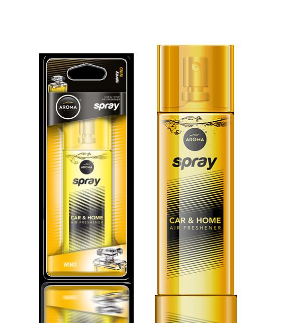 Ароматизатор спрей Pump Spray Car Perfume Wind, Aroma