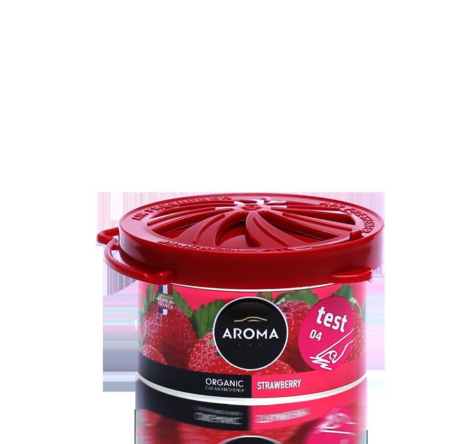 Ароматизатор под сидение сухой Organic Strawberry, Aroma
