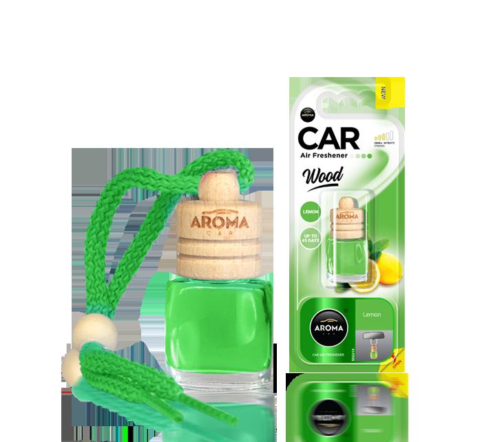 Ароматизатор подвесной жидкий Wood Lemon, Aroma, 6 ml