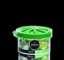 Ароматизатор под сидение сухой Organic Green apple, Aroma