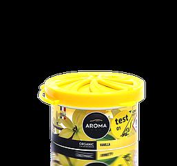 Ароматизатор под сидение сухой Organic Vanilla, Aroma