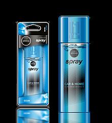 Ароматизатор спрей Pump Spray Car Perfume Ocean, Aroma
