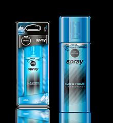 Ароматизатор спрей Pump Spray Car Perfume Aqua, Aroma
