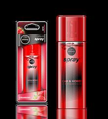 Ароматизатор спрей Pump Spray Car Perfume Strawberry, Aroma