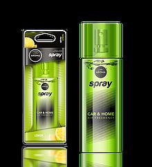 Ароматизатор спрей Pump Spray Car Perfume Lemon, Aroma