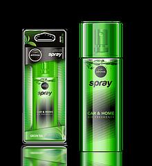 Ароматизатор спрей Pump Spray Car Perfume Green Tea, Aroma