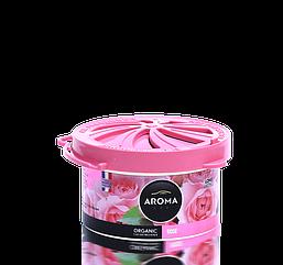 Ароматизатор под сидение сухой Organic Rose, Aroma