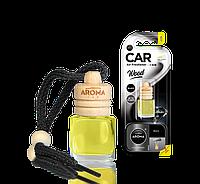 Ароматизатор подвесной жидкий Wood Black, Aroma, 6 ml