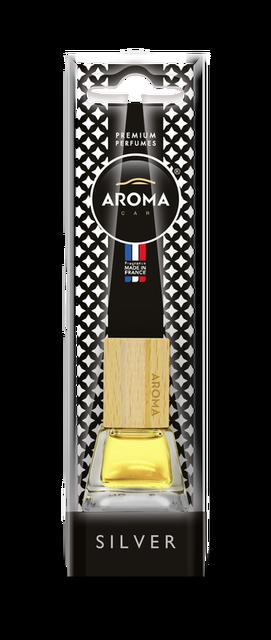Ароматизатор подвесной жидкий Prestige Wood Silver, Aroma, 7 ml