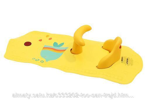 Коврик Roxy для ванной со съемным стульчиком 2в1( Рыбка)