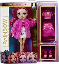 Кукла Рейнбоу Хай Стелла Монро -RAINBOW HIGH S2 Fuchsia - Stella Monroe MGA
