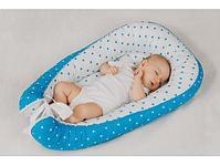 Кокон-гнездо Roxy Kids для новорожденных (цвет  голубой,розовый), фото 5
