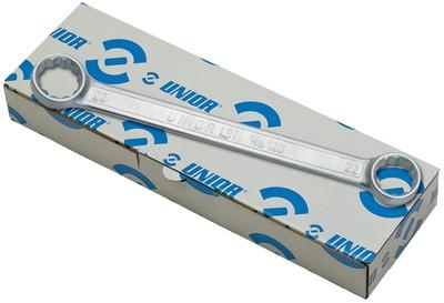 Набор ключей накидных плоских с отогнутой головкой в картонной коробке - 182/2BCB UNIOR