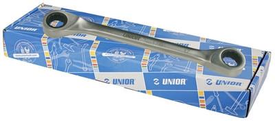 Набор ключей накидных кованых с храповиком в картонной коробке - 170CB UNIOR