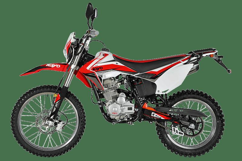 Мотоцикл KAYO T2-G 250 ENDURO - фото 2