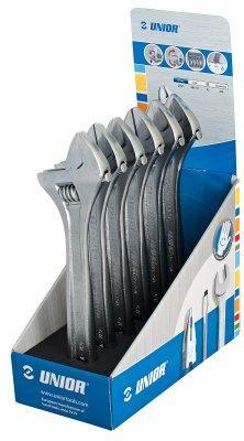 Набор ключей разводных в стойке рекламной - 250/1ST250 UNIOR