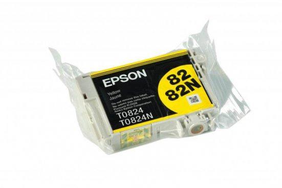 Картридж Epson T0824 (Yellow, 460 стр)