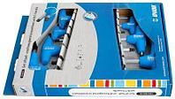 Набор ключей шестигранных с закруглённым жалом с Т-образной рукояткой в картонной упаковке - 193HXSCS UNIOR