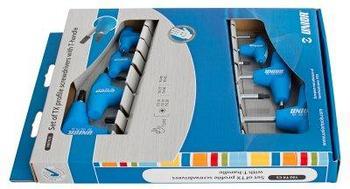 Набор ключей TORX с Т-образной рукояткой в картонной упаковке - 193TXCS UNIOR