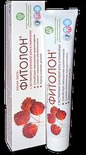 Натуральная зубная паста Фитолон, с экстрактом осиновой коры и ламинарии
