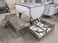 Оборудование для производства творога, ванна 1500 литров