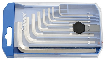 Набор ключей шестигранных в пластиковой коробке - 220/3PB1 UNIOR