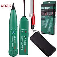 Детектор скрытой проводки MS6812, кабель трекер, трасоискатель