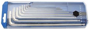 Набор ключей шестигранных удлинённых с закруглённым жалом в пластиковой коробке - 220/3SLPB2 UNIOR