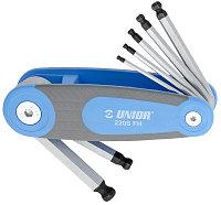 Набор ключей шестигранных с закруглённым жалом в держателе - 220/3SFH UNIOR