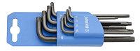 Набор ключей с профилем TXP в пластиковом подвесе - 220/7TXPPH UNIOR