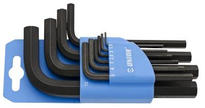 Набор ключей шестигранных в пластиковом подвесе - 220/4PH UNIOR