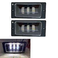Противотуманные фары LED линза