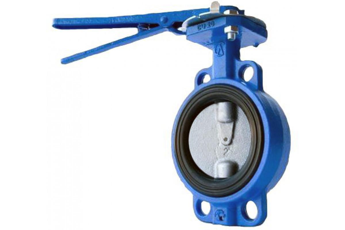 Затвор дисковый поворотный 16 бар- DN 100