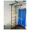 Шведская стенка Юный Атлет Пристенный-Лайт зеленый-желтый, фото 3
