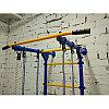 Шведская стенка Юный Атлет Пристенный-Лайт зеленый-желтый, фото 4