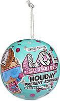 Кукла LOL Holiday Present Surprise, фото 1